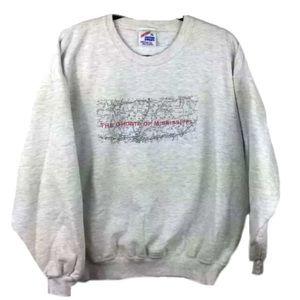 "Jerzees ""The Ghosts Of Mississippi"" Vtg Fleece Crewneck Sweatshirt Medgar Evers"